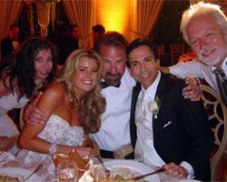 Celebrating Dr. Dorfman's Wedding